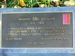 58th Battalion : 21-September-2011