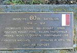 60th Battalion : 21-September-2011
