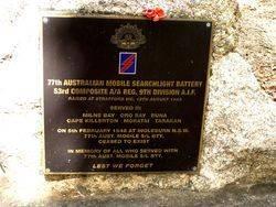 77th Australian Mobile Searchlight Battery
