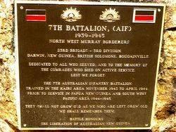 7th Battalion A.I.F. (23rd Brigade - 3rd Division)