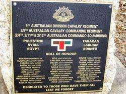 9th Australian Division Cavalry / 2/9th Cavalry (Commando) Regiments