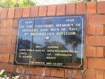 9th Australian Division Memorial Plaque