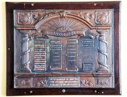 ANZAC Honour Roll
