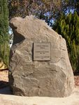 Anzac Parade Plaque : 11-August-2014