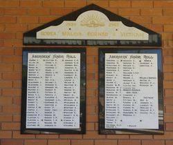 Aberdeen Honour Roll
