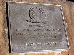 Australia Remembers WW2 : 11-September-2014