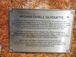 Afghan Camels Plaque