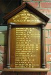 Albert Park Methodist Church Roll of Honour