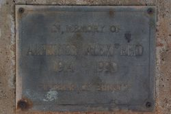 Plaque Inscription: 02-August-2015