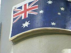 Australian Flag : 19-October-2014