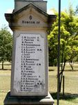 Amberley Honour Roll WW1: Rosewood Rd 2009