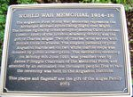 Angaston War Memorial : 23-February-2011
