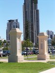 Anzac Park Memorial Gates 2