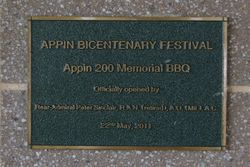 Memorial Plaque: 20-July-2015
