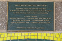 Bicentenary Logo Plaque : 20-July-2015