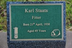 Staats Plaque: 20-July-2015