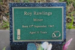 Rawlings Plaque:20-July-2015