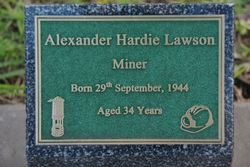 Lawson Plaque: 20-July-2015