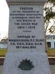 Ascot Vale War Memorial   Front