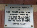Augusta Army Nurses Memorial Inscription