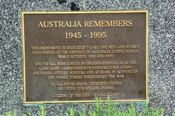 Inscription Plaque: 24-January-2016