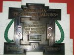 Australian Pioneer Battalions Memorial