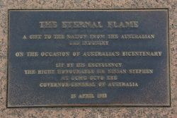 Eternal Flame Plaque : 18-March-2015