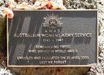 Australian Womens Army Service