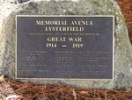 Avenue of Honour : 13-April-2013