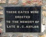 B. C. Nayler : 24-August-2011