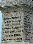 Bass War Memorial
