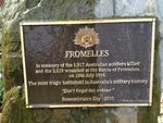 Battle of Fromelles Plaque Inscription : 23-09-2013