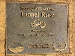 Lionel Rose -2000 : 03-May-2015