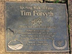 Tim Forsyth - 2000: 03-May-2015