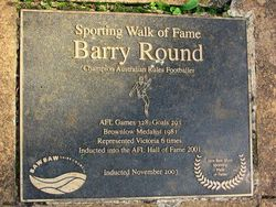 Barry Round -2003 : 03-May-2015