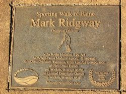 Mark Ridgeway : 03-May-2015