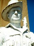 Beaudesert War Memorial Digger Closeup