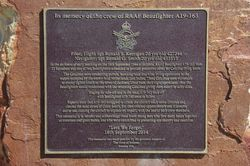 Plaque Inscription: 02-August-2015