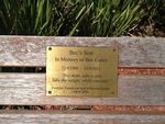 bec's Seat Inscription : 20-09-2013
