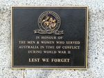 Benalla War Memorial : 10-August-2011