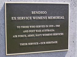 Bendigo Ex-Servicewomen`s Memorial