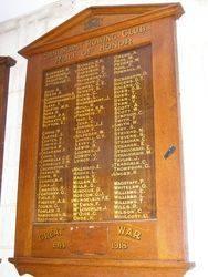 Honour Roll 3 : 12-November-2014