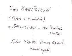 1984 : (Dagmar Kyjovská)