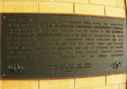 Plaque Inscription : 25-November-2014