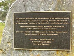 Plaque Inscription : 30-June-2015