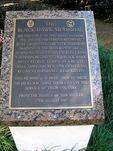 Blacvk Hawk Memorial Plaque