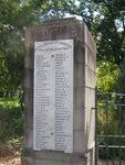 WW1 Honour Roll 2 : 25-03-2014