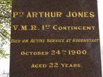 Arthur Jones Insc / April 2013/ Williams
