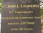 John Laurence Inscription / April 2013/ Williams
