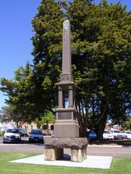 Boer War Memorial : 17-October-2014